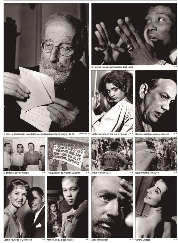 """Colección de fotografías de Benito. Página de """"Diario de Ibiza"""" publicada el 21 de mayo de 2006."""