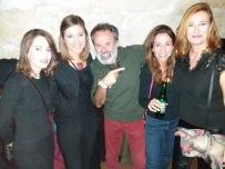 Cristina Sastre, Neus Benítez, Jorge Muñoz, Irene Sala y Aina Gutiérrez- fiesta APIB 2017