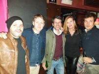 Jordi Julià, Manuel Aguilera, Aina Gutiérrez y Kike Fueris-fiesta APIB 2017