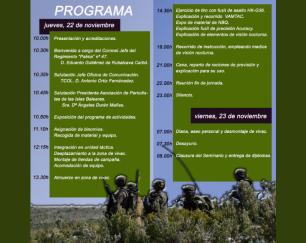 Ejército periodistas baleares 2018